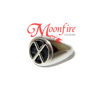 X-MEN Charles Xavier School for Gifted Youngsters X Logo Ring