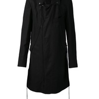 Ann Demeulemeester casual trench coat