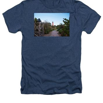 Path To Jupiter Lighthouse - Heathers T-Shirt