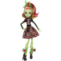 MONSTER HIGH® Gloom and Bloom™ Venus Mcflytrap® Doll - Shop.Mattel.com