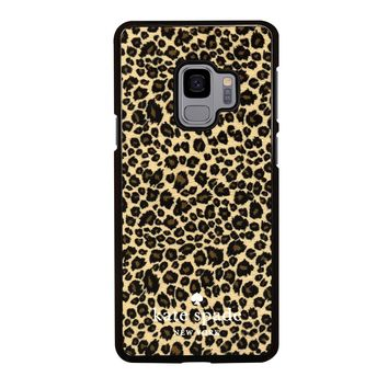 KATE SPADE LEOPARD Samsung Galaxy S3 S4 S5 S6 S7 S8 S9 Edge Plus Note 3 4 5 8 Case