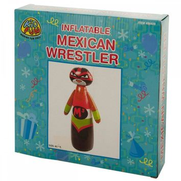 Inflatable Mexican Wrestler Punching Bag PC352