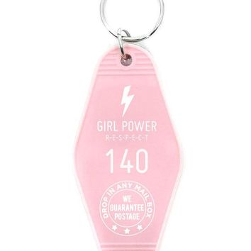 Girl Power Keychain