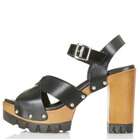 LYRICAL Wooden Platforms - Topshop
