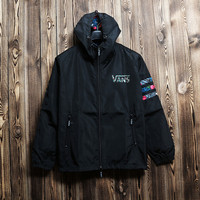 Cozy Men VANS Jacket Windbreaker