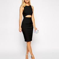ASOS Clean 2 Piece Midi Dress