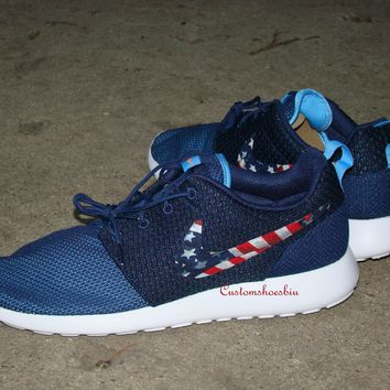 newest ba2fd 6a83d Best Roshe Run American Products on Wanelo