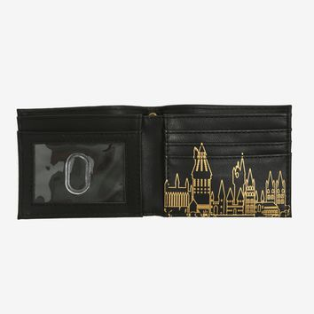 Harry Potter Embossed Bi-Fold Wallet