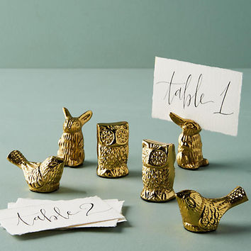 Animal Placecard Holder Set