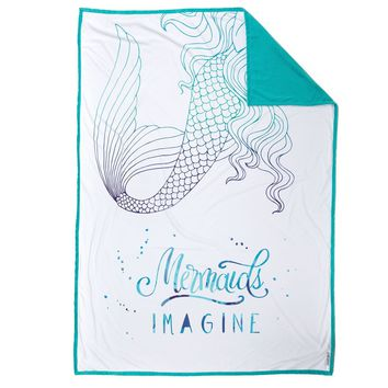 IMAGINE Mermaid Blanket (100% Velvet)