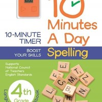 10 Minutes a Day Spelling, 4th Grade (10 Minutes a Day)