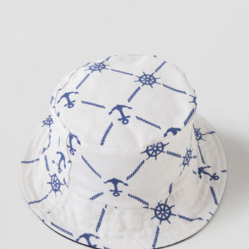 Nautical Bucket Hat
