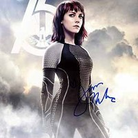 JENA MALONE (Hunger Games - Catching Fire) 8x10 Female Celebrity Photo Signed In-Person