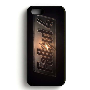 fallout 4 logo iPhone 5, iPhone 5s and iPhone 5S Gold case