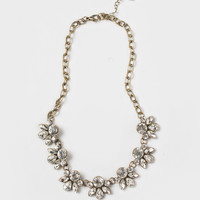 Elena Crystal Statement Necklace