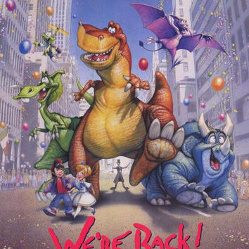 We're Back: A Dinosaur's Story 11x17 Movie Poster (1993)