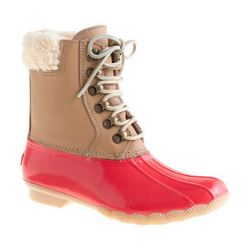 Sperry Top-Sider For J.Crew Leather Shearwater Boots