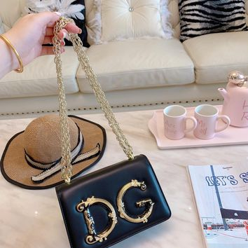 D&G Popular Classic Women Shopping Bag Leather Tote Handbag Shoulder Bag Zipper Purse Wallet And Key Pouch-Coin Purse