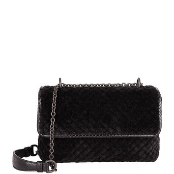 Bottega Veneta Baby Velvet Olimpia Shoulder Bag | Harrods.com