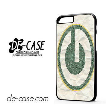 Nfl Green Bay Packers For Iphone 6 Iphone 6S Iphone 6 Plus Iphone 6S Plus Case Phone Case Gift Present