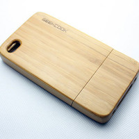 INFMETRY:: iPhone 4 Bamboo Case - Phone Accessories - Electronics