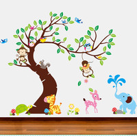 Animal kid wall decal