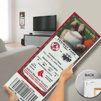 David Ortiz Red Sox Home Run Record Mega Ticket - Boston Red Sox