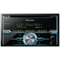 Pioneer Double-din In-dash Cd Receiver With Mixtrax Usb Pandora Ready Android Music Support & Color Customization
