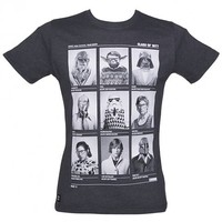 Men's Charcoal Class Of 77 Star Wars T-Shirt From Chunk : TruffleShuffle.com