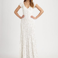 Petal Gown - Zoom - Saks Fifth Avenue Mobile