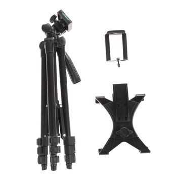 Portable Photographic Camera Tripod Stand Holder For iPhone iPad Samsung GALAXY Tablets Phone Holder+Table/PC Holder