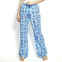 "Galene Fish Pattern Loungewear Pants (S/M 40"" L)"