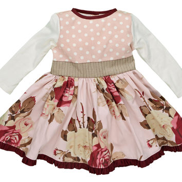 Persnickety Cora Baby Dress PREORDER