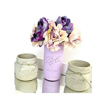 Country Mason Jar Home Decor Set