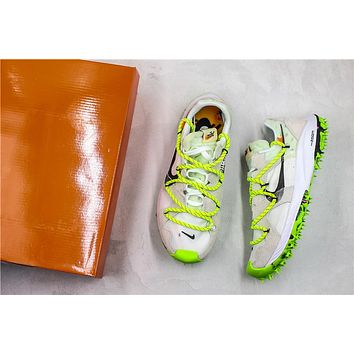 Off-White x Nike Zoom Terra Kiger 5 White/Green