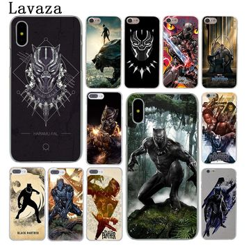 Black Panther Marvel Comics Phone Case for Apple iPhone X 10 8 7 6 6s Plus 5 5S SE 5C 4 4S Cover