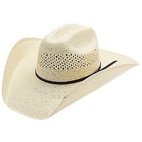 M&F® 10X Natural Jute Straw Cowboy Hat