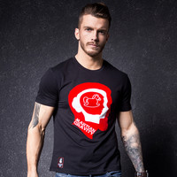 Summer Men Short Sleeve T-shirts Round-neck Korean Fashion Bottoming Shirt [10488643779]