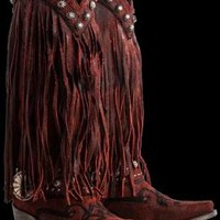 LANE WOMEN'S PRESCOTT FRINGED BOOT