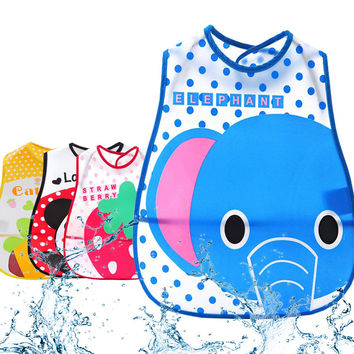 Cute Cartoon Newborn Baby Bibs