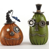 Steampunk Pumpkin Bot Head - Purple :: VampireFreaks Store :: Gothic Clothing, Cyber-goth, punk, metal, alternative, rave, freak fashions