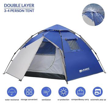Weanas™ 3-4 Person Automatic Pop-Up Camping Tent