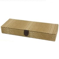 Compact Jewelry case storage Safe Deposit Box