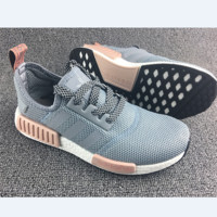 ADIDAS Women Running Sport Casual Shoes New NMD Sneakers Grey