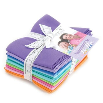 Bella Solids Fat Quarter Bundle by Me and My Sister for Moda Fabrics