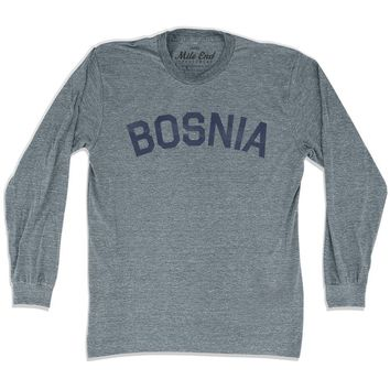 Bosnia City Vintage Long Sleeve T-shirt