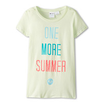 Roxy Kids One More Summer HT Harmony Tee (Big Kids) Lime Cream - Zappos.com Free Shipping BOTH Ways