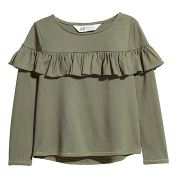Flounced Top - from H&M