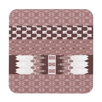 Weave-Styled Drink Coasters