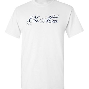 Official NCAA University of Mississippi Rebels Ole Miss Hotty Toddy Short-Sleeve T-Shirt - OLM01